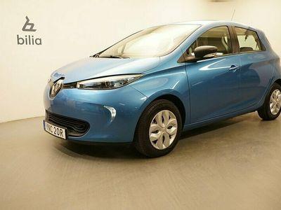 begagnad Renault Zoe R90 41 kWh Life batterihyra. Kvarvarande nybils 2019, Halvkombi Pris 139 900 kr