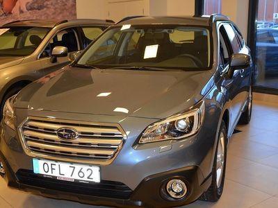 begagnad Subaru Outback 2,5 Base Vinterhjul, Dragkrok, Motorvärmare fläkt ingår 2016, Kombi 336 100 kr