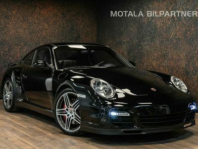 begagnad Porsche 911 Turbo 480hk Manuell   Sport Ch   BOSE   PASM