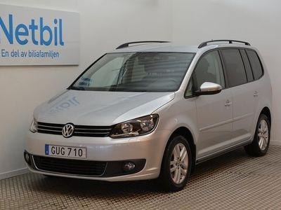 begagnad VW Touran 1.4 TSI 140hk 7-sits / Drag