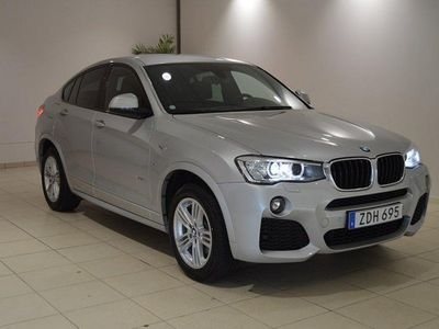 begagnad BMW X4 xDrive 20D StepTronic 190HK