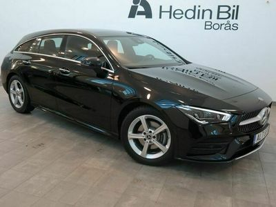 begagnad Mercedes CLA180 Shooting Brake - Benz / / AMG Line / / Premiumpaket / / Navigation / / Dragkrok / / El - stolar med minne / /