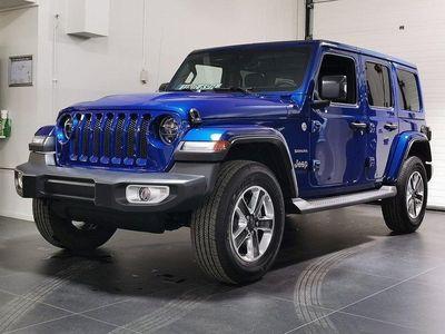begagnad Jeep Wrangler Unlimited Sahara 2.0T 272hk ATX