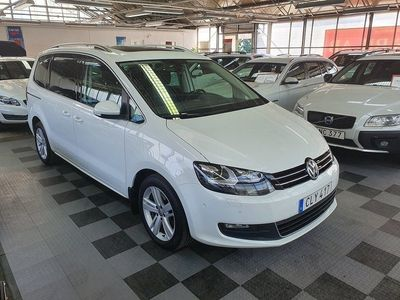 begagnad VW Sharan 2.0 TDI DSG*7-sits*Panorama*P-värmare