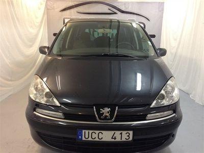 begagnad Peugeot 807 SR 2,2,7Sitsig
