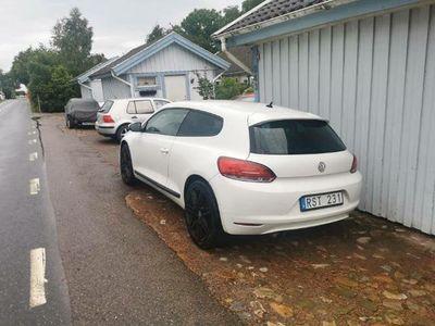 begagnad VW Scirocco 160 HK 1.4