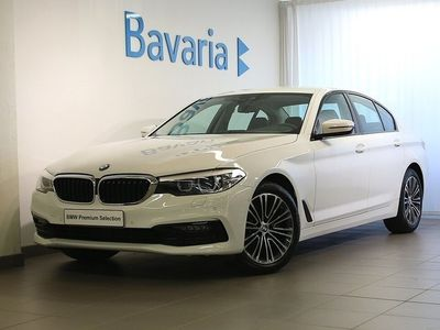 gebraucht BMW 520 d xDrive Sedan Sport Line Connected Winter Nav Drag