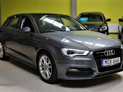 begagnad Audi A3 Sportback 2.0 TDI S-Line