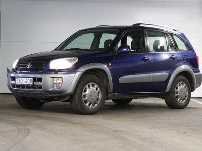 begagnad Toyota RAV4 4x4 2.0 150hk- Drag - Fint skick