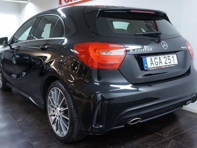 gebraucht Mercedes A220 CDI BenzAMG-PKT NAVI 3-ÅRS 2015, Halvkombi 259 700 kr