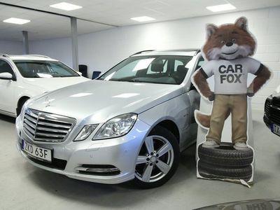 begagnad Mercedes E350 E4MATIC Taklucka Skinn -11
