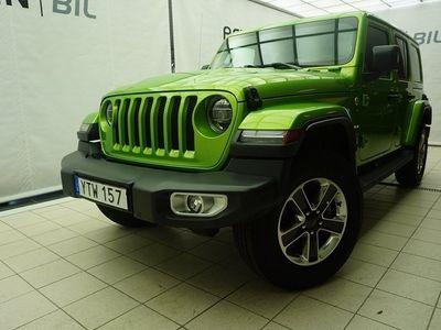 begagnad Jeep Wrangler Unlimited JL Sahara 2.0 270hk