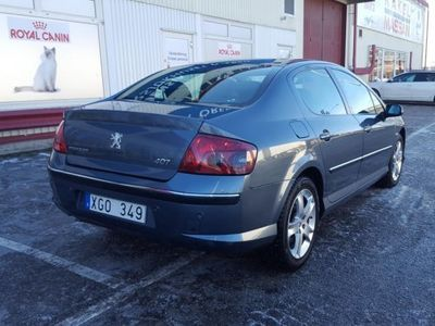 begagnad Peugeot 407 2.2 skinn/xenon/ -06