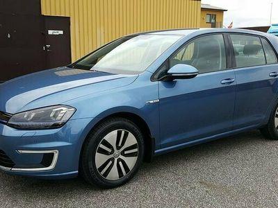 begagnad VW Golf Plus E-Golf 24.2kWh Comfort Plus GPS 2017, Halvkombi Pris 225 000 kr
