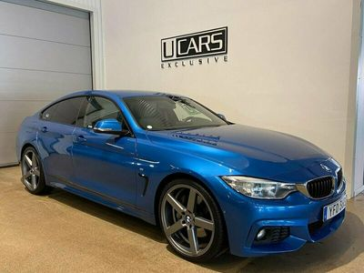 begagnad BMW 440 i Gran Coupé M-Sport 2017, Sportkupé 349 900 kr