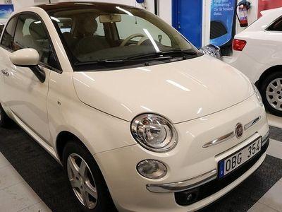 begagnad Fiat 500 1,2 *Panoramatak* Nyservad*2,95% Ränta