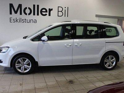 begagnad VW Sharan TDI 150HK 7sits DSG Panoram