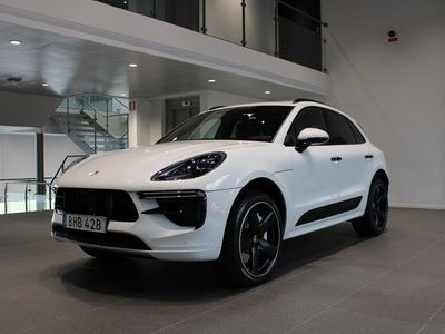 begagnad Porsche Macan Turbo Approved 24 mån