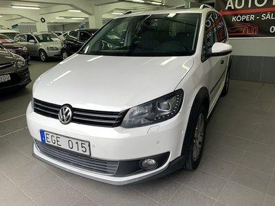 begagnad VW Touran Cross 1.4 TSI EcoFuel/AUTOMA -11