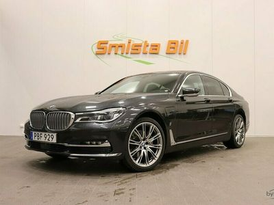 begagnad BMW 740 e Plug in hybrid Laser B&W Excellence SE SPEC 326hk