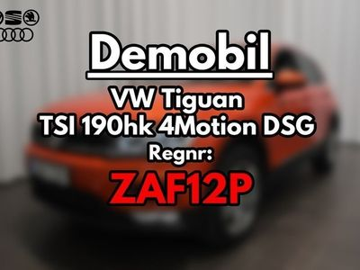 begagnad VW Tiguan TSI 190hk 4Motion DSG