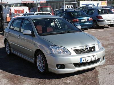 brugt Toyota Corolla 1.8 TS VVTL-i 192hk 6 Växel Sport