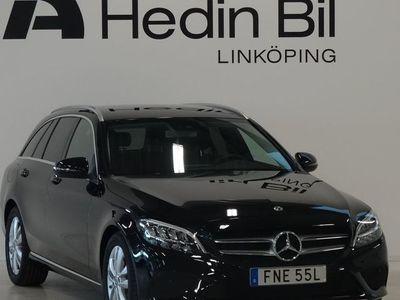 begagnad Mercedes C200 d Backkamera Navigation Dragkrok Tonade rutor bak DEMO