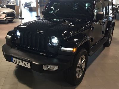 begagnad Jeep Wrangler Unlimited WRANGLER 2.0T GME SAHARA AUTOMAT