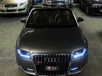 begagnad Audi A4 Cabriolet 1,8T S-LINE ,AUTOMAT,SKINN