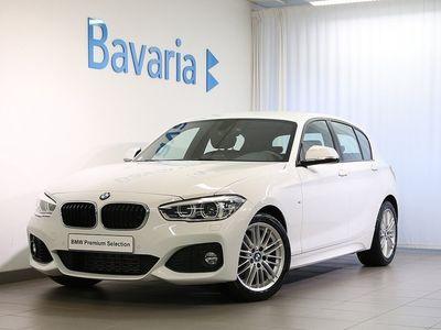 begagnad BMW 118 i 5-dörrar M-Sport Läderklädsel Nypri -19
