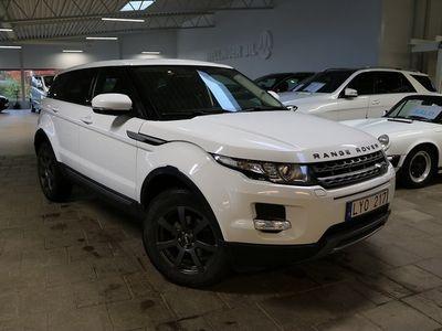 begagnad Land Rover Range Rover evoque TD4 4WD Automat Pure 150hk