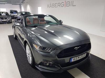 begagnad Ford Mustang GT Convertible 5.0 V8 / 421hk / Sportavgas / 1144 Mil