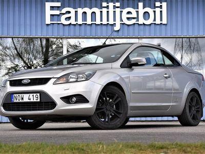 begagnad Ford Focus Cabriolet 2.0 Cab/Skinnklädsel/Dragkrok/17 tum