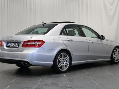 begagnad Mercedes E220 E BenzCDI BlueEfficiency AMG Panorama 2011, Sedan 148 000 kr