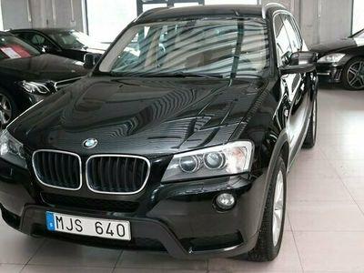 begagnad BMW X3 xDrive20d A-DRAG NAVI M-VÄRM 2011, SUV Pris 124 900 kr