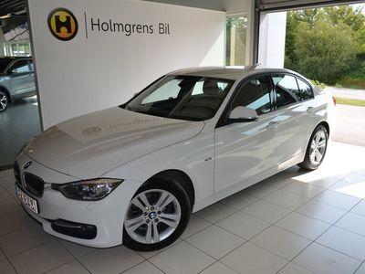 begagnad BMW 318 d Sedan Model Sport