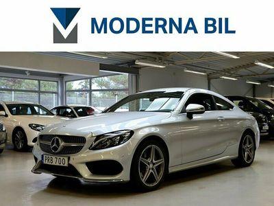 begagnad Mercedes C220 C BenzD COUPÉ 9G-TRONIC AMG SPORT EU6 2016, Sportkupé Pris 304 700 kr