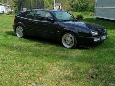 begagnad VW Corrado VR6, 15000 mil, samlarbil -92