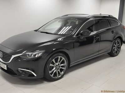 begagnad Mazda 6 Wagon 2.5 Optimum Aut