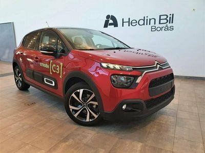 begagnad Citroën C3 Shine Exclusive Navi Backkamera 2020, Kombi 174 900 kr
