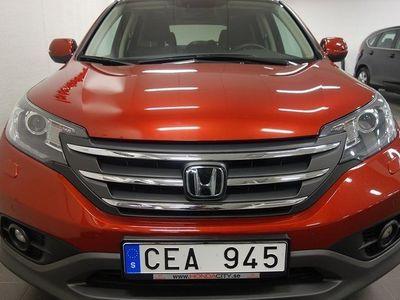 begagnad Honda CR-V 2,2 i-DTEC Exe Advanced Navi AT