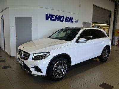 begagnad Mercedes GLC220 d 4Matic, AMG Line, Backkamera, Navigation, Panorama