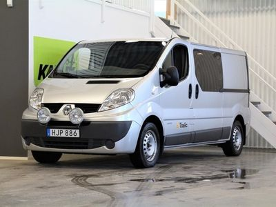begagnad Renault Trafic Van 2.0 dCi Quickshift Lång 114hk 2014