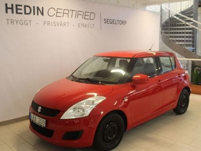 brugt Suzuki Swift 5dr 1,3 75hk S+V-hjul