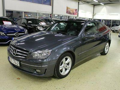 begagnad Mercedes CLC180 Kompressor AUT TAKLUCKA SKINN 143hk
