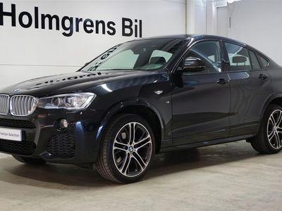 begagnad BMW X4 xDrive30d M-Sport Navi Drag Kamera