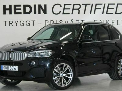 begagnad BMW X5 40d xDrive M-Sport Innovation 7-sits Drag Värmare Pano H/K mm