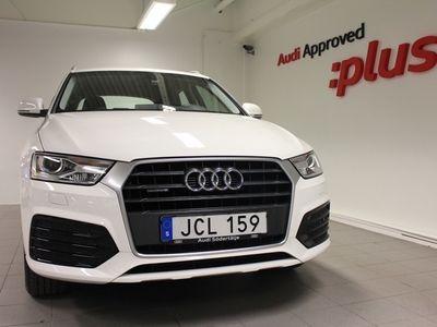 begagnad Audi Q3 2.0 TDI Q Sport 2018, SUV 259 000 kr