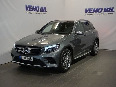 begagnad Mercedes GLC250 Suv 4-Matic AMG Backkamera Värmare Aut Distronic Nav
