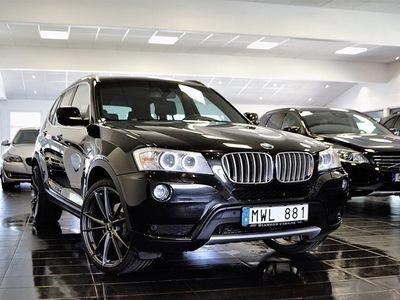 brugt BMW X3 xDrive30d 258hk Navi / Skinn / Kamera / Drag